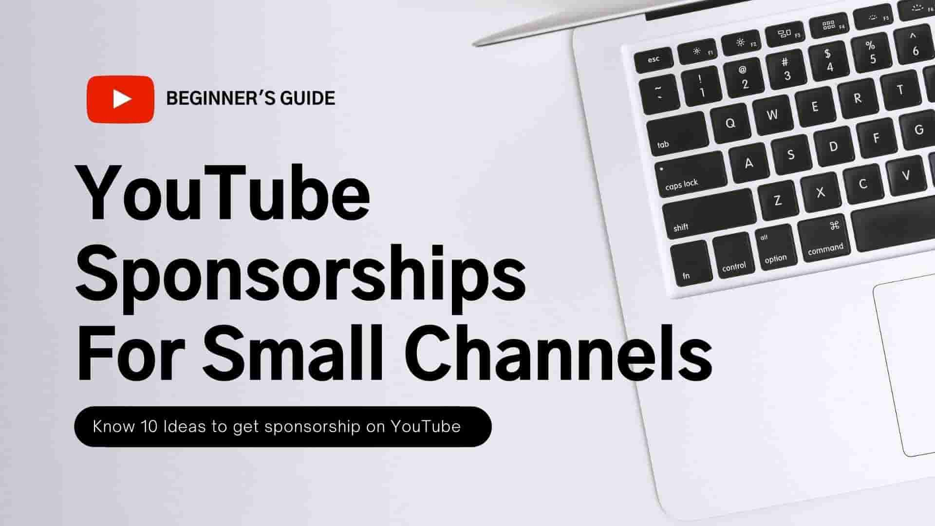 Youtube sponsorship for small channels
