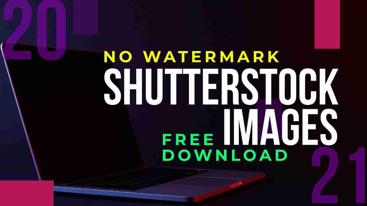 how to get shutterstock images without watermark