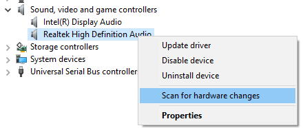 no audio output device is installed 8